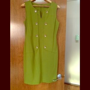 Light green dress. Beautiful and comfortable.